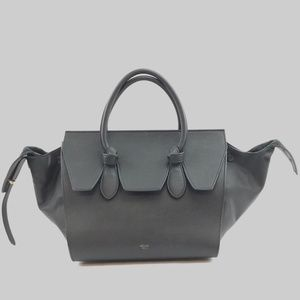 Preowned Céline Tie Knot Mini Calfskin Leather Bag